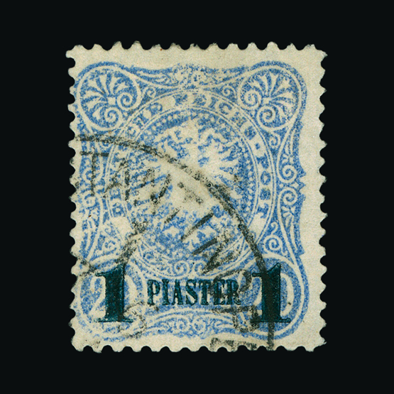 Lot 7879 - Germany - Post Offices in Turkish Empire 1884 -  UPA UPA Sale #82 worldwide Collections