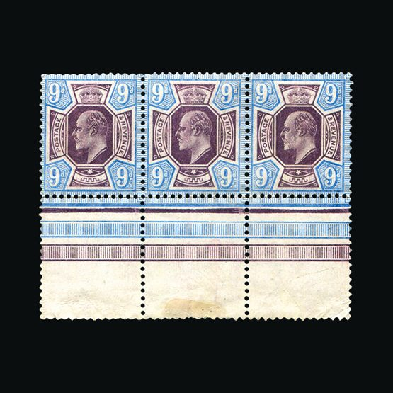 Lot 10075 - Great Britain - KEVII 1902-10 -  UPA UPA Sale #83 worldwide Collections