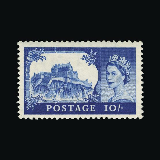 Lot 10746 - Great Britain - QEII (pre-decimal) 1955 -  UPA UPA Sale #83 worldwide Collections