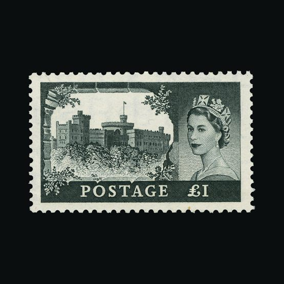 Lot 10747 - Great Britain - QEII (pre-decimal) 1955 -  UPA UPA Sale #83 worldwide Collections