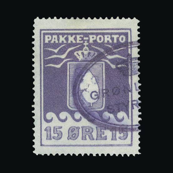 Lot 11472 - Greenland 1928 -  UPA UPA Sale #83 worldwide Collections