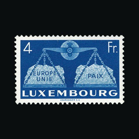 Lot 14115 - Luxembourg 1951 -  UPA UPA Sale #83 worldwide Collections