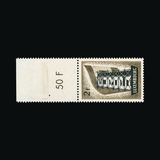 Lot 14131 - Luxembourg 1956 -  UPA UPA Sale #83 worldwide Collections