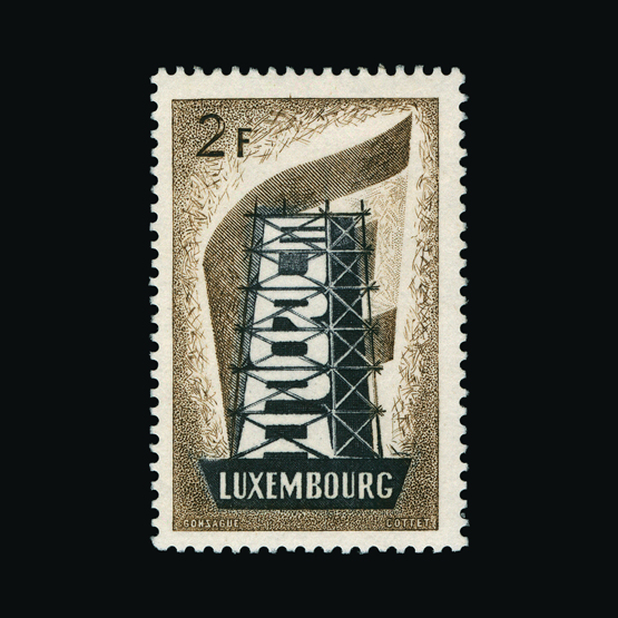 Lot 14136 - Luxembourg 1956 -  UPA UPA Sale #83 worldwide Collections