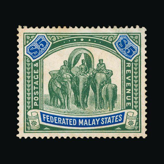 Lot 14237 - Malaya - Federated Malay States 1904-22 -  UPA UPA Sale #83 worldwide Collections