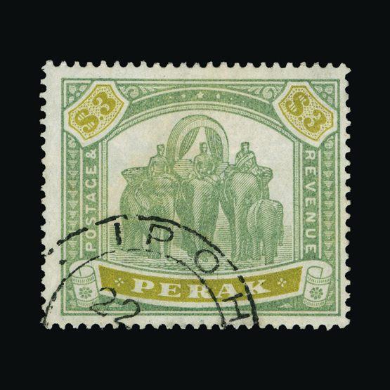 Lot 14437 - malaya - perak 1895-9 -  UPA UPA Sale #83 worldwide Collections
