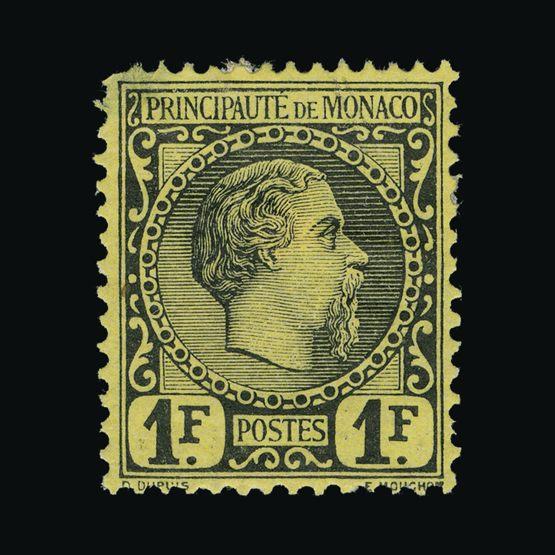 Lot 15082 - Monaco 1885 -  UPA UPA Sale #83 worldwide Collections