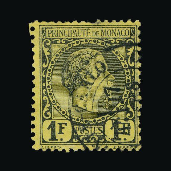 Lot 15083 - Monaco 1885 -  UPA UPA Sale #83 worldwide Collections