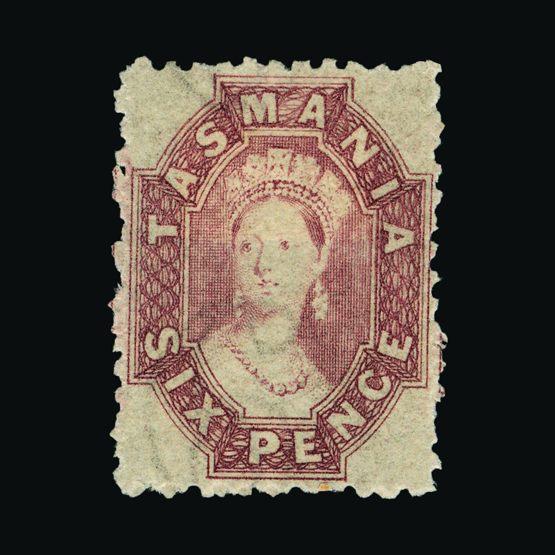 Lot 1711 - Australia - States - Tasmania 1863-71 -  UPA UPA Sale #83 worldwide Collections