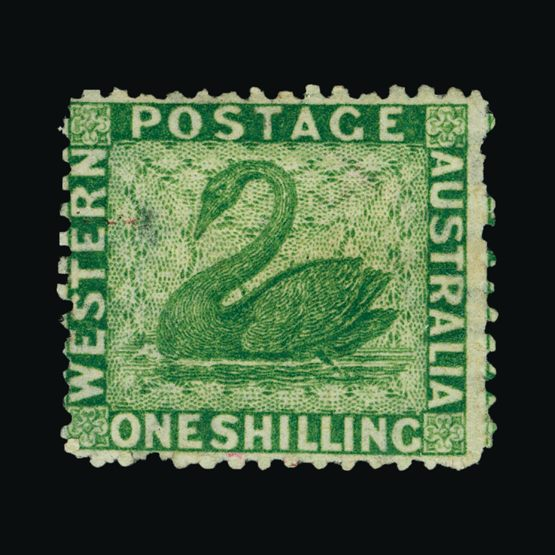 Lot 1740 - Australia - States - Western Australia 1864-79 -  UPA UPA Sale #83 worldwide Collections