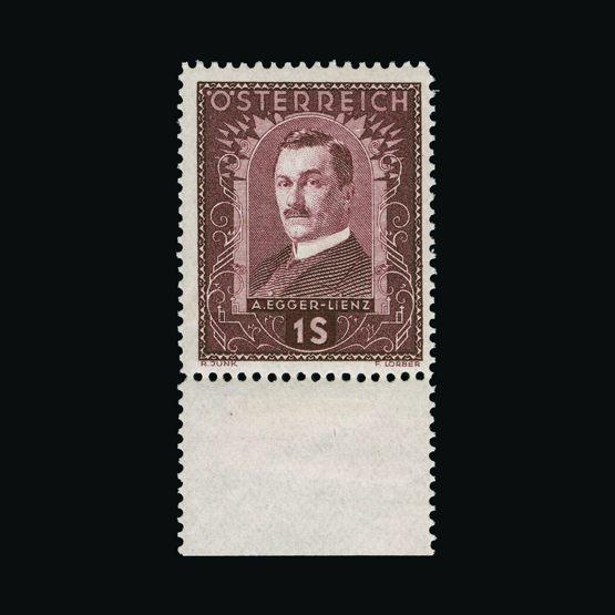 Lot 1780 - Austria 1932 -  UPA UPA Sale #83 worldwide Collections