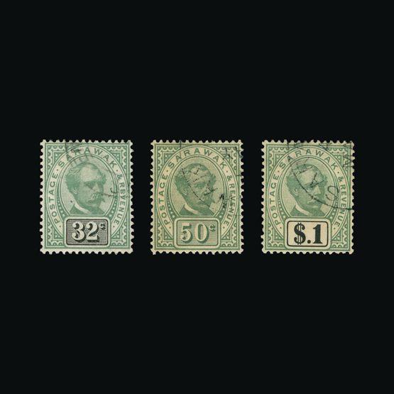 Lot 17946 - sarawak 1888-97 -  UPA UPA Sale #83 worldwide Collections