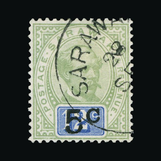 Lot 17954 - sarawak 1889-92 -  UPA UPA Sale #83 worldwide Collections