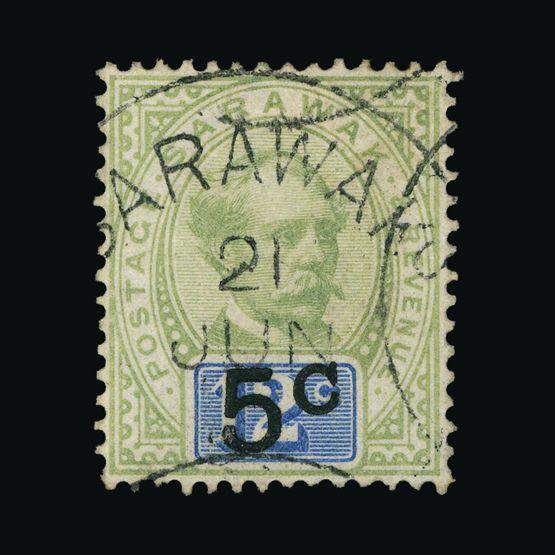 Lot 17955 - sarawak 1889-92 -  UPA UPA Sale #83 worldwide Collections