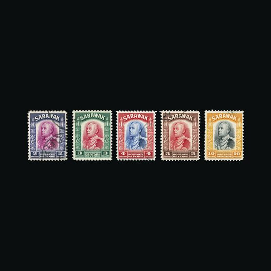 Lot 17990 - sarawak 1934-41 -  UPA UPA Sale #83 worldwide Collections