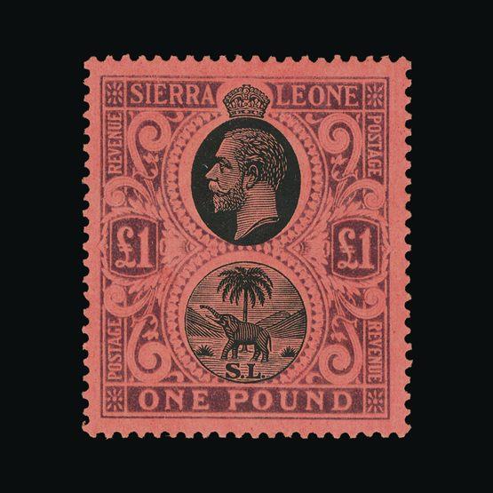 Lot 18232 - sierra leone 1912-21 -  UPA UPA Sale #83 worldwide Collections