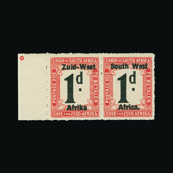 Lot 18711 - south west africa 1923 -  UPA UPA Sale #83 worldwide Collections