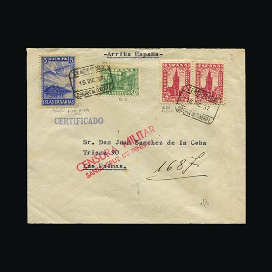 Lot 18995 - spain - civil war issues 1937 -  UPA UPA Sale #83 worldwide Collections