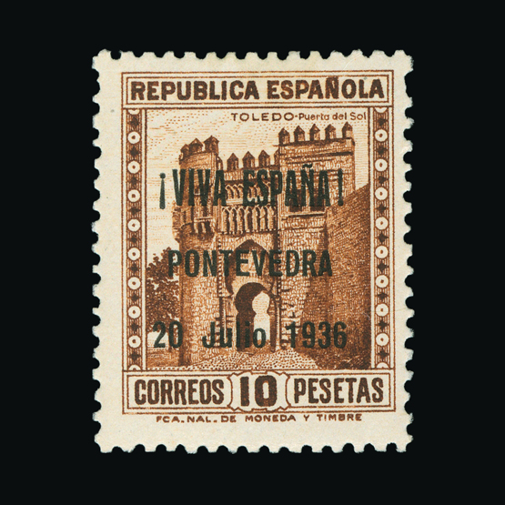 Lot 19011 - spain - civil war issues 1937 -  UPA UPA Sale #83 worldwide Collections
