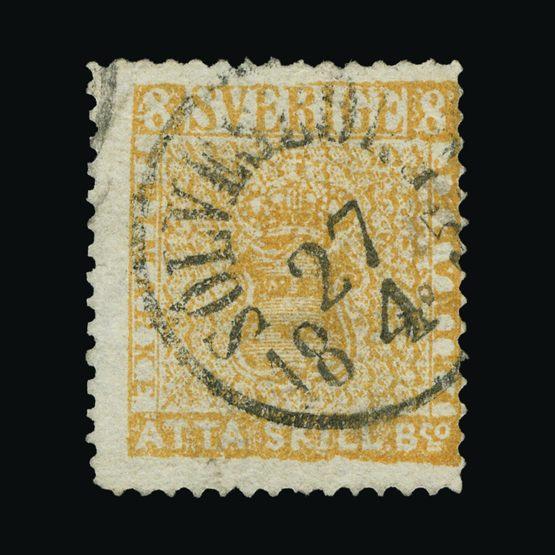 Lot 19703 - Sweden 1855 -  UPA UPA Sale #83 worldwide Collections