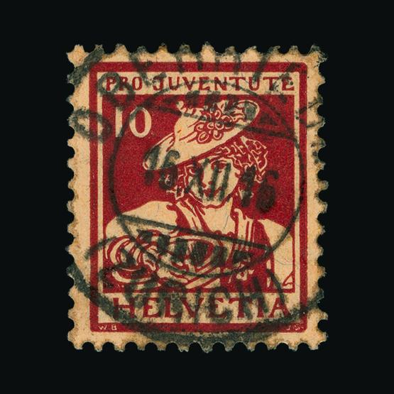 Lot 19831 - Switzerland 1916 -  UPA UPA Sale #83 worldwide Collections