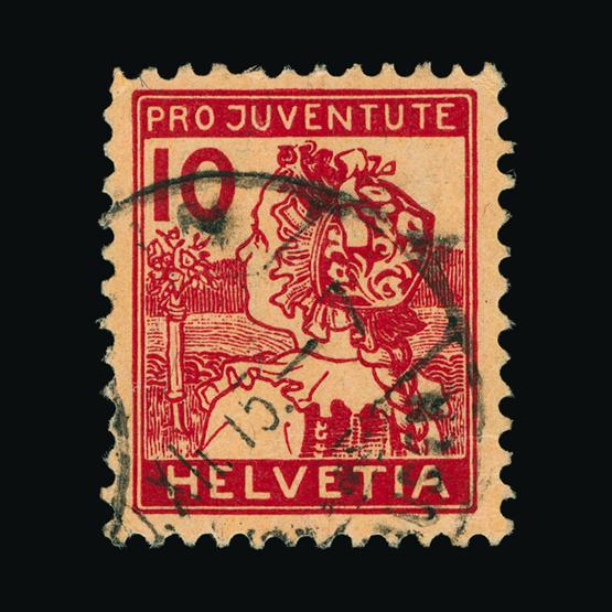 Lot 19984 - Switzerland - Pro Juventute 1915 -  UPA UPA Sale #83 worldwide Collections