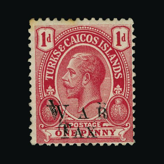 Lot 20533 - turks and caicos islands 1919 -  UPA UPA Sale #83 worldwide Collections