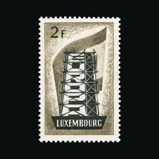 Lot 23 - General - Europe 1956 -  UPA UPA Sale #83 worldwide Collections
