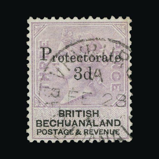 Lot 2499 - bechuanaland 1888 -  UPA UPA Sale #83 worldwide Collections
