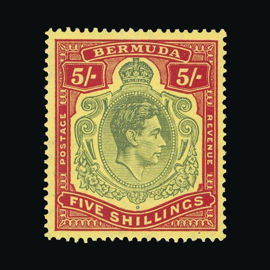 Lot 3186 - Bermuda 1938 - 1953 -  UPA UPA Sale #83 worldwide Collections