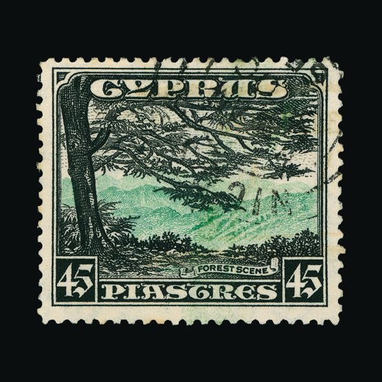 Lot 5639 - Cyprus 1934 -  UPA UPA Sale #83 worldwide Collections