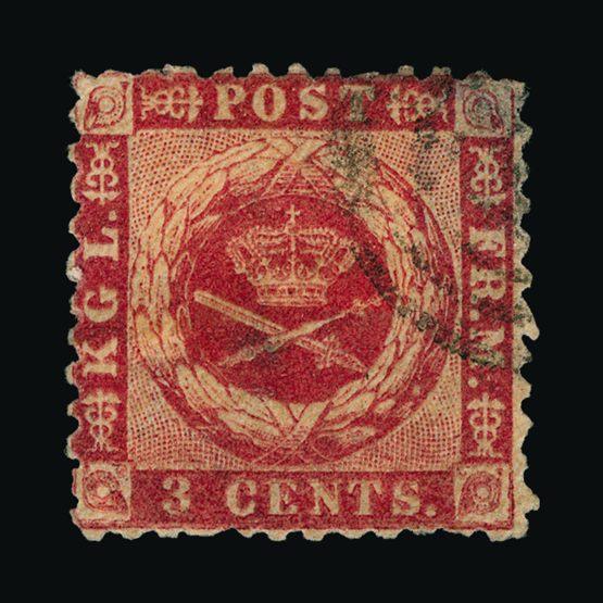 Lot 5715 - danish west indies 1872-73 -  UPA UPA Sale #83 worldwide Collections