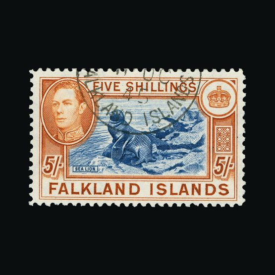 Lot 6271 - falkland islands 1938-50 -  UPA UPA Sale #83 worldwide Collections