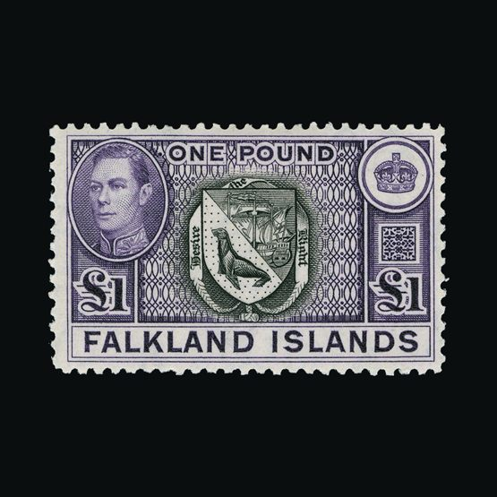 Lot 6297 - falkland islands 1938-50 -  UPA UPA Sale #83 worldwide Collections