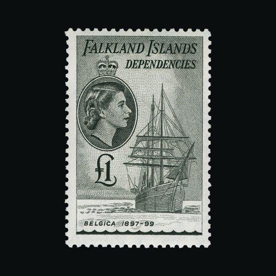 Lot 6401 - Falkland Islands - Dependencies 1954-62 -  UPA UPA Sale #83 worldwide Collections