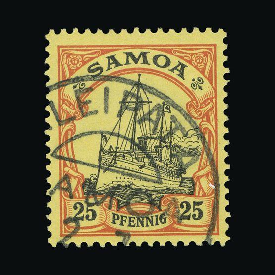 Lot 8529 - Germany - Colonies - Samoa 1900-01 -  UPA UPA Sale #83 worldwide Collections