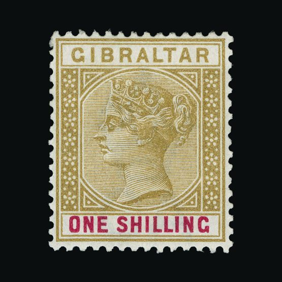 Lot 8657 - Gibraltar 1898 -  UPA UPA Sale #83 worldwide Collections